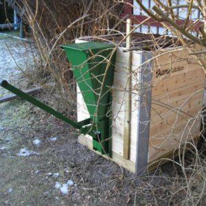 Underifrån matad kompost Embla Kitchen